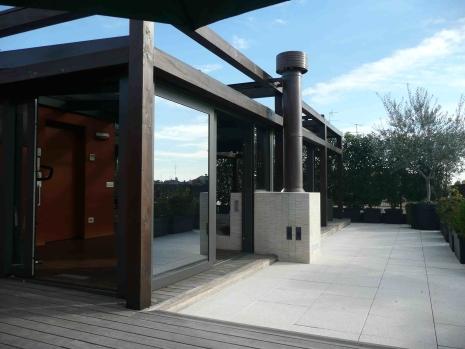 Luca bianchi progetti abitazioni - Veranda terrazzo ...